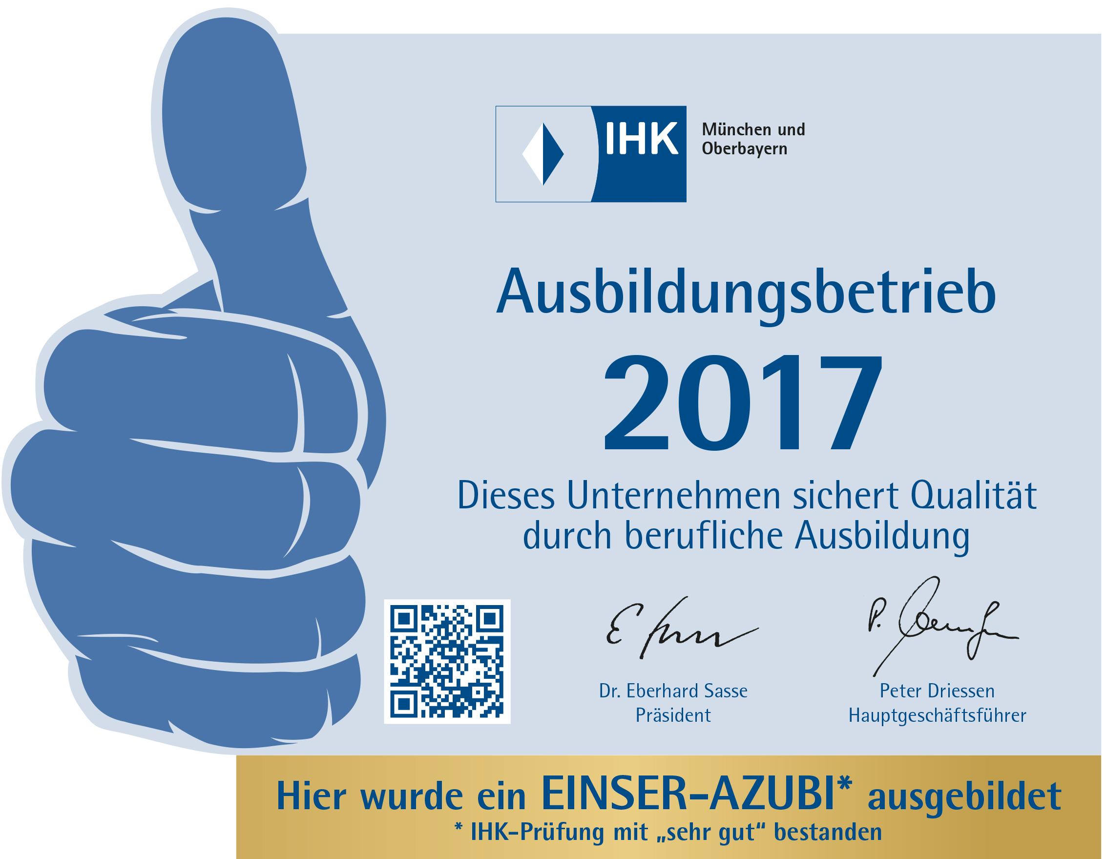 Einser-Auszubildender bei rocom GmbH