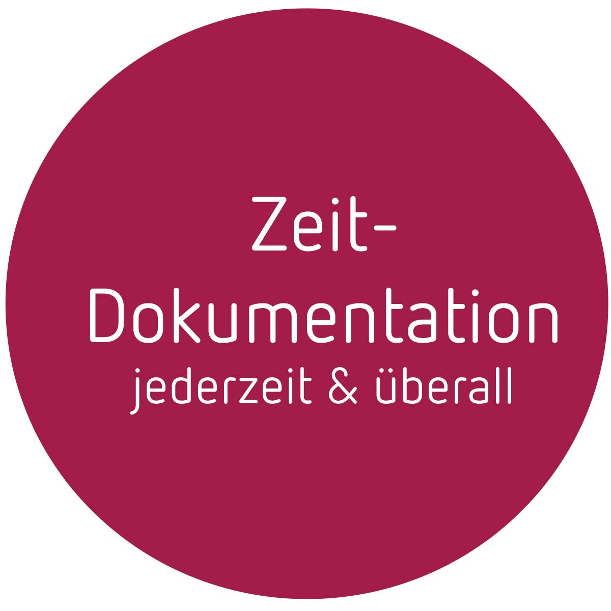 Button-Zeitdokumentation