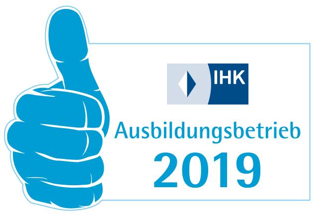 Ausbildungssiegel 2019 der IHK München