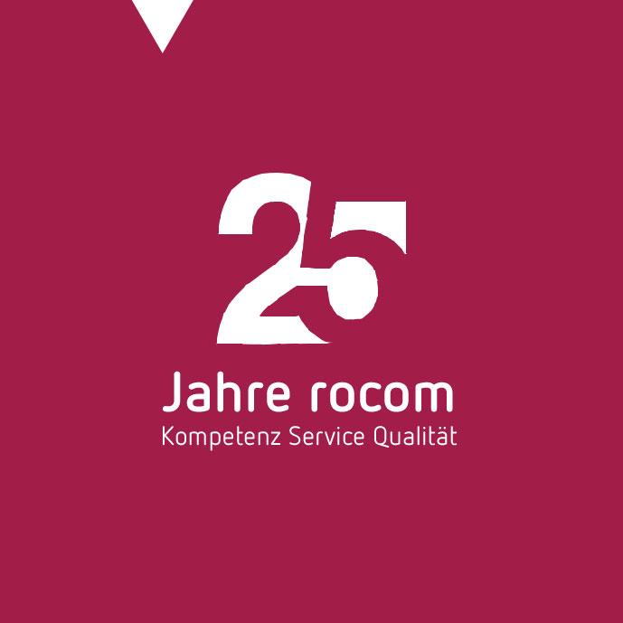 25 Jahre rocom - Kopetenz Service Qualität