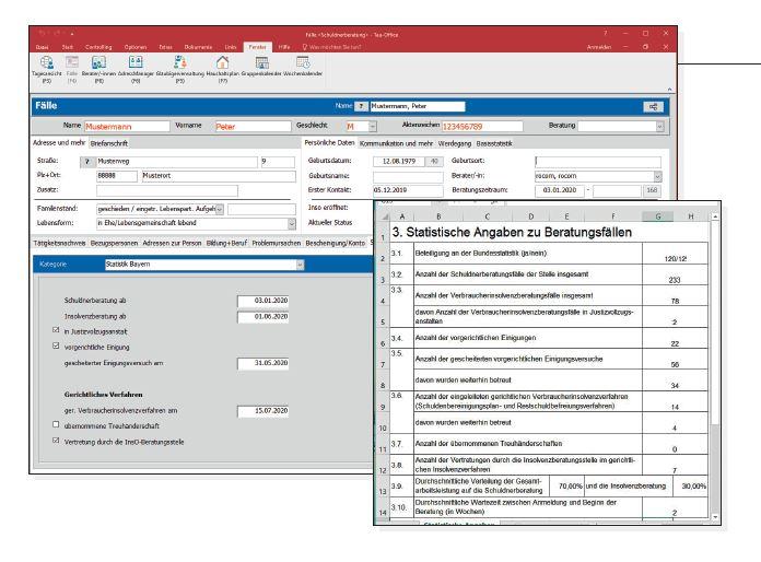 Screenshot zu Tau-Cloud Jas, JSA von dr elektronischen Akte der fachlösung