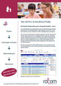 Screenshot Produktbroschüre Software Schulbegleitung