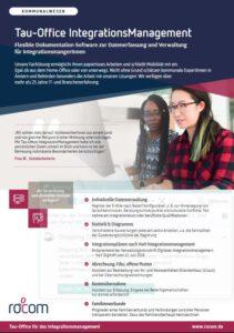 Produktblatt zur Software Integrationsmanagement