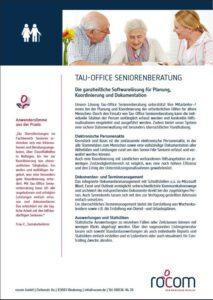 Thumbnail Fachbereich Seniorenberatung, Softwarelösung