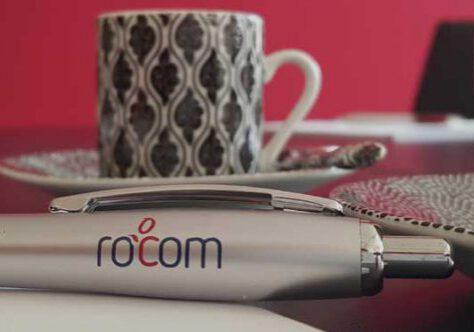 rocom Stift mit zwei Tassen